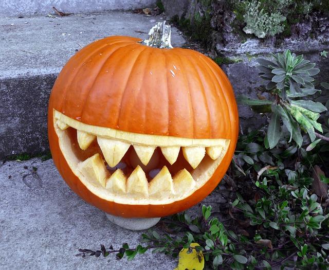 Mit Kürbis zu Halloween abnehmen